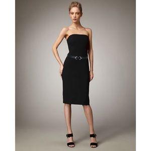 Ralph Lauren Black Label Strapless Cocktail Dress